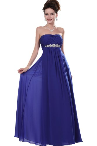 eDressit Elegant Strapless Evening Dress, UK.10