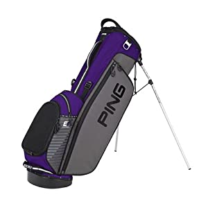 New Ping 2014 4 Series II Golf Stand Bag (Charcoal Black Purple) by Ping