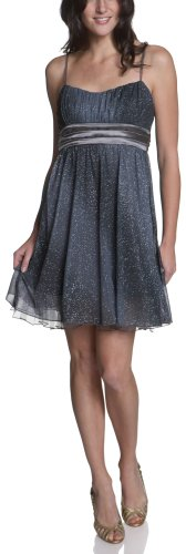 Ruby Rox Juniors' Glitter Sheer Matte Jersey Dress