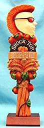 Shock Top Honeycrisp Apple Wheat 11in Resin Tap Handle w Display Stand