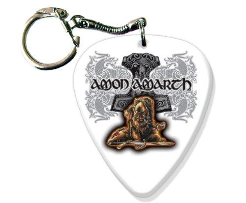 Amon Amarth BIG Chitarra Pick Portachiavi Band Plettro Plettri