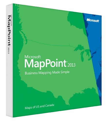 MapPoint 2013 North America (Mapping Software compare prices)