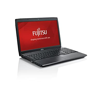 Fujitsu Lifebook A544 15.6-inch Laptop (Core i3-4000M/4GB/500GB/DOS/Intel HD Graphics 4600), Black