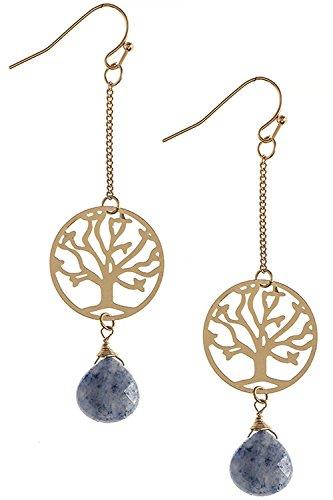 the-jewel-rack-tree-cutout-semi-precious-stone-drop-earrings-navy