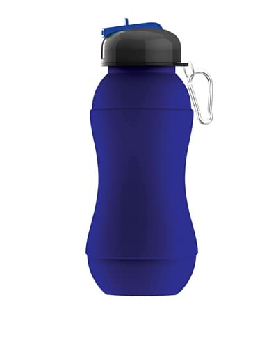 AdNArt Sili-Squeeze Collapsible Hydra Bottle with Sport Lid