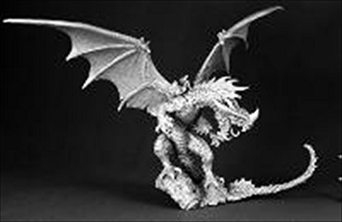 Reaper Miniatures 60028 Pathfinder Series Red Dragon Miniature REM60028