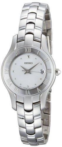 Seiko Women's SXDB71 Silver Tone Silver Dial Dress Watch