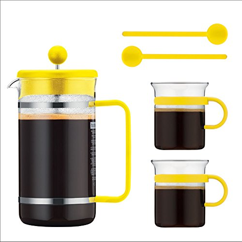 Bodum Bistro Multi-Colored Coffee Set (Yellow)