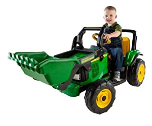 Peg Perego John Deere Power Loader - Motorized