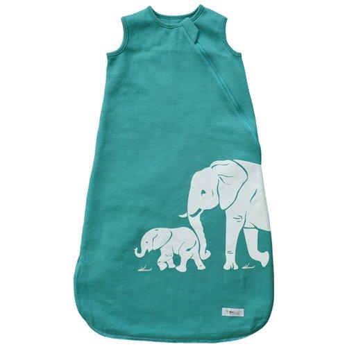 Wee Urban Baby Sleeping Bag Aqua Elephants 18 36 months