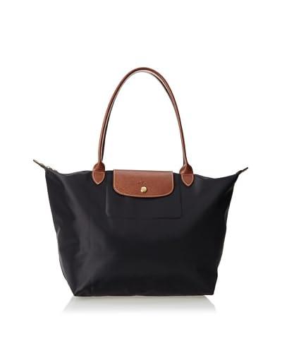 Longchamp Women's Le Pliage Sac Dame Large Tote, Black, One Size