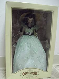 Gone with the Wind Scarlett O'hara Vinyl Portrait Doll the Franklin Mint