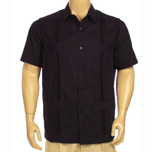 Short Sleeve Pima Cotton Guayabera Shirt