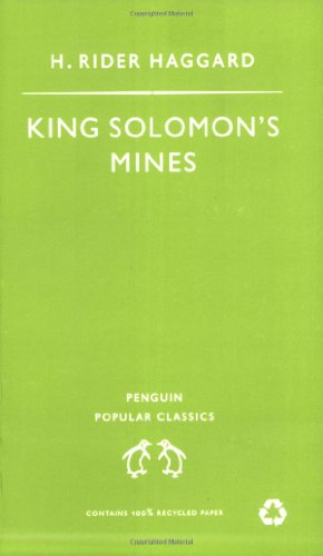 King Solomon's Mines (Penguin Popular Classics)