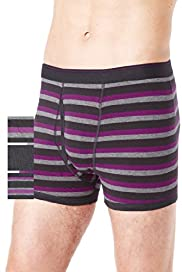 3 Pack Authentic Stretch Cotton Assorted Trunks