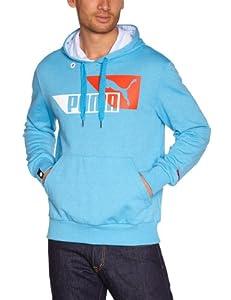 Puma Sweatshirt à capuche SportsCasual pour homme Bleu bleu XX-Large