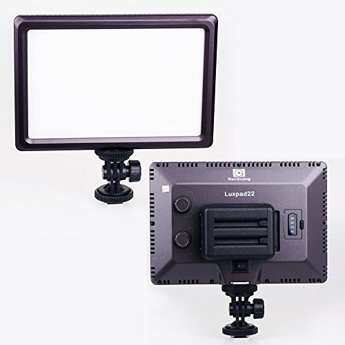 Cn-Luxpad22 Ultra Thin 112 Led 112Led 5600K /3200K Video On-Camera Light Pad For Canon Nikon Dslr Dv Ultra Thin 112 Led 112Led 5600K /3200K Video On-Camera Light Pad For Canon Nikon Dslr Dv