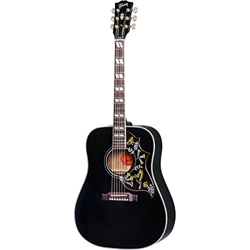 Gibson Hummingbird SSHBAEG17 Ebony Special Acoustic-Electric Guitar Black