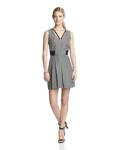 W118 by Walter Baker Women's Bianca Sleeveless Fit and Flare Dress  [Black]