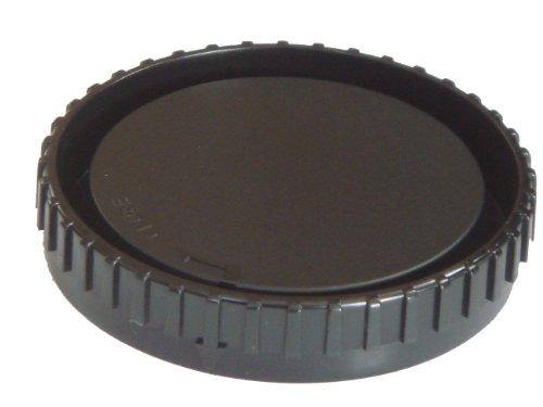 Objektiv-Rückdeckel schwarz passend für Minolta A5(D), A7, 7D & Sony A33, A55, A100, A200, A290, A300, A350, A380, A450, A500, A550, A580, A700, A850.
