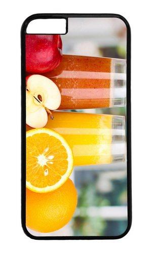 Nutritious Juice Apples Oranges Pc Black Hard Case For Apple Iphone 6(4.7 Inch) front-1052668