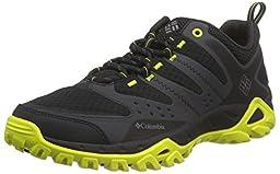 Columbia Men\'s Peakfreak Xcrsn Xcel Trail Shoe, Black/Zour, 10 D US
