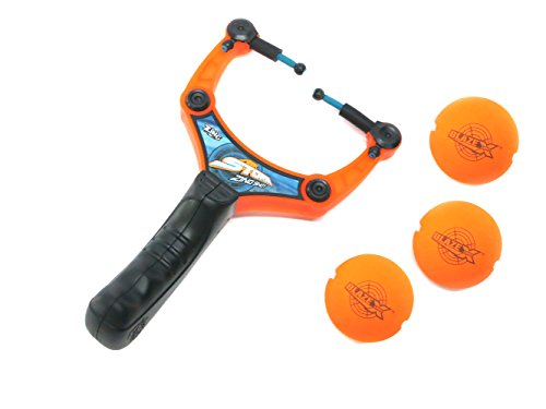 Zing Toys Air Storm Zing Shot, Orange Black