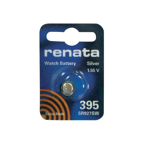 Silver Oxide Button-Cell Battery, 395 (395 Watch Battery compare prices)