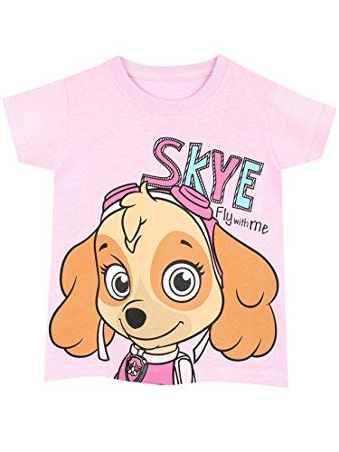 Paw-Patrol-Camiseta-para-nias-La-Patrulla-Canina-3-4-Aos