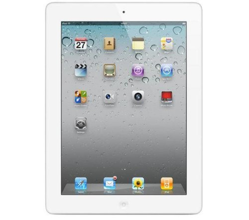 Apple iPad 2 MC983LL/A Tablet (32GB, Wifi + AT&T 3G, White) NEWEST MODEL