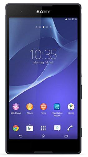 Sony Xperia T2 Ultra Smartphone (15,2 cm (6 Zoll) HD-Display, 1,4 GHz-Quad-Core-Prozessor, 13 Megapixel-Kamera, 8 GB interner Speicher, Android 5.0) schwarz