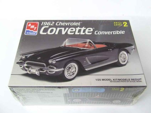 1962 Chevrolet Corvette Convertible 1:25 (1962 Corvette Model compare prices)
