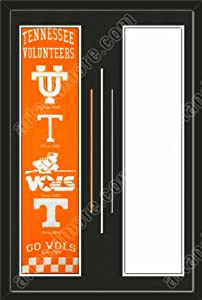 Tennessee Volunteers & Your Choice of other Team Heritage Banner Framed-House... by Art and More, Davenport, IA