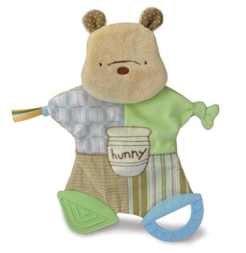 Kids Preferred Classic Pooh Flat Blankie Teether