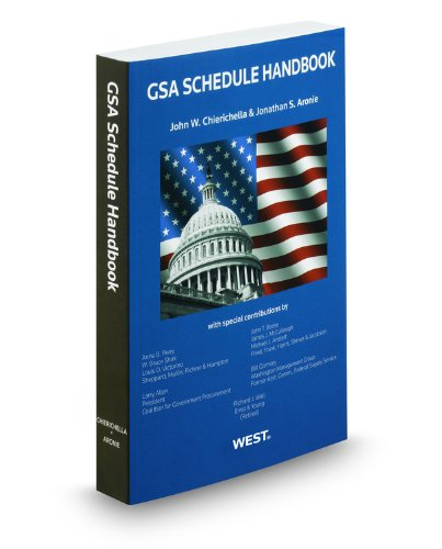 GSA Schedule Handbook, 2011-2012 ed. PDF