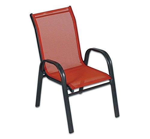 Kinder-Stapelstuhl-orange-Kinderstuhl-mit-Aluminiumgestell-u-Kunststoffgeflecht