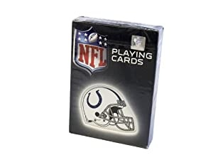 NFL Indianapolis Colts NFL Helmet Logoed Playing Cards