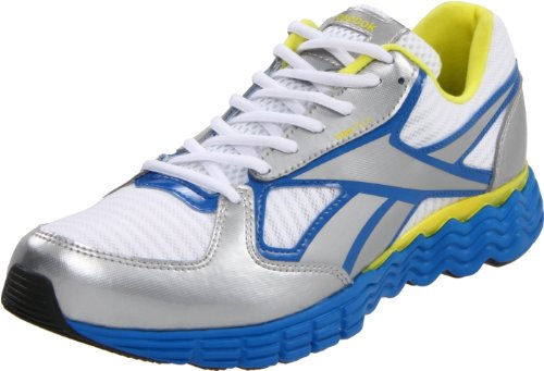 Reebok Men's Ultimatevibe Running Shoe,White/Silver/Frenchy Blue/Sun Rock/Gravel,7 M US