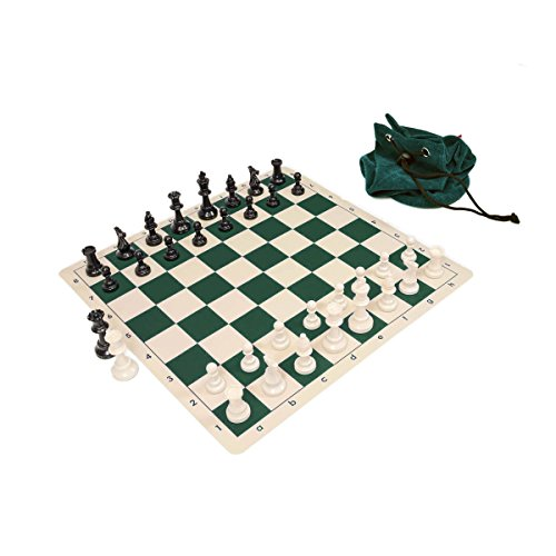 Triple Weighted Staunton Chess Silicone Set