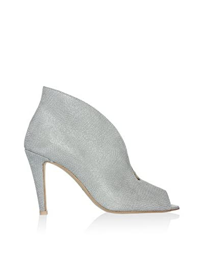 L37 Zapatos peep toe Gris