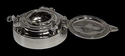 Casa Padrino luxury ashtray made of aluminum plated diameter 21 cm
