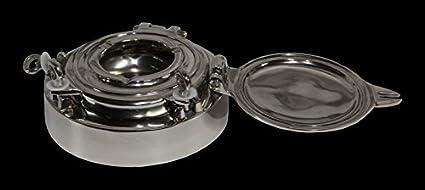Casa Padrino luxury ashtray made of aluminum plated diameter 21 cm