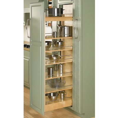 Rev-A-Shelf 448-TP Series Wood Pullout Pantry 11