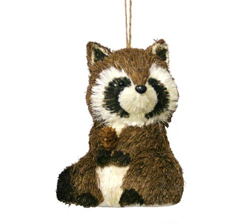 Raccoon Ornament- Christmas Ornament Holiday Gift