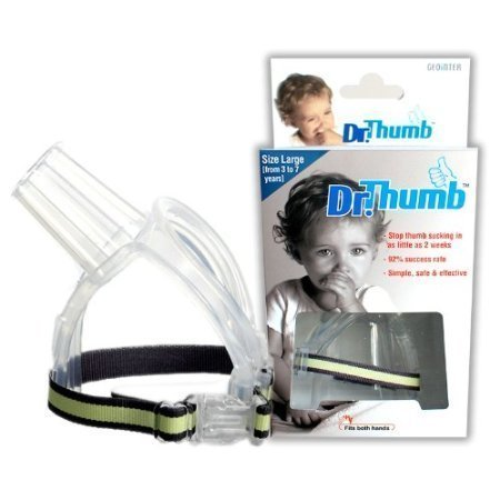 Dr Thumb for Thumb Sucking Prevention and Treatment, Stop Thumb Sucking Today (Large (3-7 years)) - 1