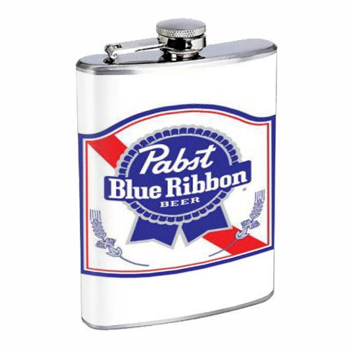 pabst-blue-ribbon-classic-logo-8oz-stainless-steel-flask-d-187