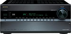Onkyo TX-NR808 7.2-Channel Network Home Theater Receiver (Black) (Discontinued by Manufacturer)