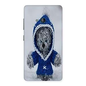 Unicovers Cute Bear Back Case Cover for Lumia 540