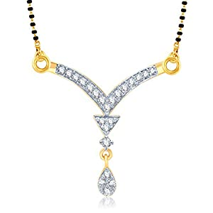 VK Jewels Wedding Mangalsutra Pendant   MP1010G [VKMP1010G] available at Amazon for Rs.199
