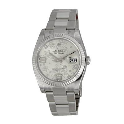Rolex Datejust 116234SAFO 36 Steel Bracelet & Case Anti-Reflective Sapphire Men's Watch